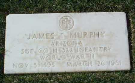 MURPHY, JAMES T. - Yavapai County, Arizona   JAMES T. MURPHY - Arizona Gravestone Photos