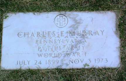 MURRAY, CHARLES E. - Yavapai County, Arizona   CHARLES E. MURRAY - Arizona Gravestone Photos
