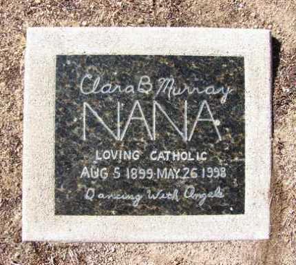 MURRAY, CLARA B. (NANA) - Yavapai County, Arizona   CLARA B. (NANA) MURRAY - Arizona Gravestone Photos