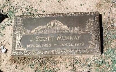 MURRAY, JAMES SCOTT - Yavapai County, Arizona | JAMES SCOTT MURRAY - Arizona Gravestone Photos