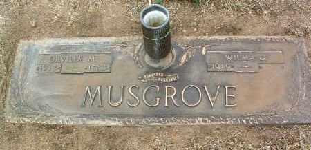 EMMONS MUSGROVE, WILMA G. - Yavapai County, Arizona | WILMA G. EMMONS MUSGROVE - Arizona Gravestone Photos