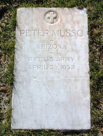 MUSSO, PETER - Yavapai County, Arizona | PETER MUSSO - Arizona Gravestone Photos
