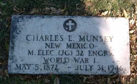 MUNSEY, CHARLES E. - Yavapai County, Arizona | CHARLES E. MUNSEY - Arizona Gravestone Photos
