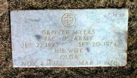 MYERS, OLGA B. - Yavapai County, Arizona | OLGA B. MYERS - Arizona Gravestone Photos