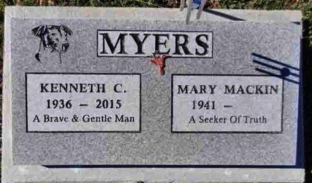MYERS, KENNETH CHESTER - Yavapai County, Arizona | KENNETH CHESTER MYERS - Arizona Gravestone Photos