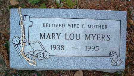 MILLER MYERS, MARY LOU - Yavapai County, Arizona | MARY LOU MILLER MYERS - Arizona Gravestone Photos