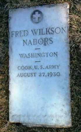 NABORS, FRED WILKSON - Yavapai County, Arizona | FRED WILKSON NABORS - Arizona Gravestone Photos