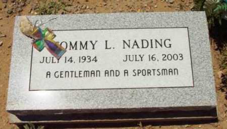 NADING, TOMMY LEE - Yavapai County, Arizona   TOMMY LEE NADING - Arizona Gravestone Photos