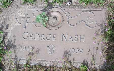 NASH, GEORGE - Yavapai County, Arizona | GEORGE NASH - Arizona Gravestone Photos