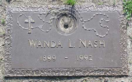 NASH, WANDA L. - Yavapai County, Arizona | WANDA L. NASH - Arizona Gravestone Photos