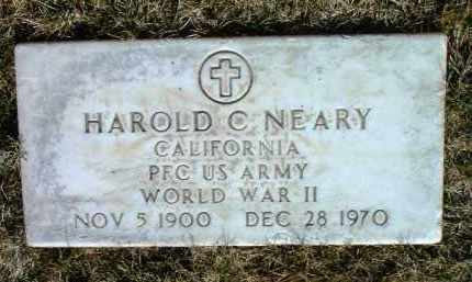 NEARY, HAROLD C. - Yavapai County, Arizona   HAROLD C. NEARY - Arizona Gravestone Photos