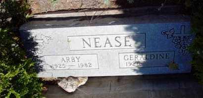 NEASE, GERALDINE - Yavapai County, Arizona | GERALDINE NEASE - Arizona Gravestone Photos