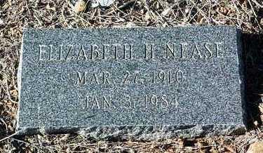 NEASE, ELIZABETH H. - Yavapai County, Arizona   ELIZABETH H. NEASE - Arizona Gravestone Photos