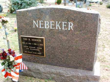 NEBEKER, TED R. - Yavapai County, Arizona | TED R. NEBEKER - Arizona Gravestone Photos
