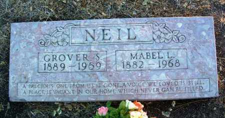 FOSTER NEIL, MABEL LEONA - Yavapai County, Arizona | MABEL LEONA FOSTER NEIL - Arizona Gravestone Photos