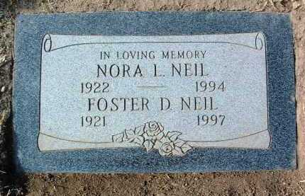 ATKINS NEIL, NORA LUCILLE - Yavapai County, Arizona | NORA LUCILLE ATKINS NEIL - Arizona Gravestone Photos