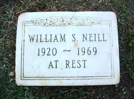 NEILL, WILLIAM S. - Yavapai County, Arizona | WILLIAM S. NEILL - Arizona Gravestone Photos