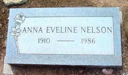 NELSON, ANNA EVELINE - Yavapai County, Arizona   ANNA EVELINE NELSON - Arizona Gravestone Photos