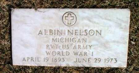 NELSON, ALBIN - Yavapai County, Arizona | ALBIN NELSON - Arizona Gravestone Photos