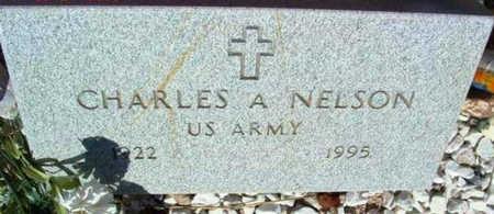 NELSON, CHARLES A. - Yavapai County, Arizona | CHARLES A. NELSON - Arizona Gravestone Photos