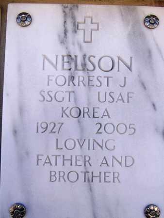 NELSON, FORREST J. - Yavapai County, Arizona | FORREST J. NELSON - Arizona Gravestone Photos