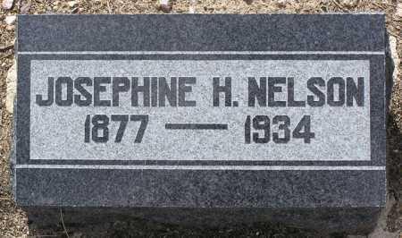 NELSON, JOSEPHINE H. - Yavapai County, Arizona | JOSEPHINE H. NELSON - Arizona Gravestone Photos