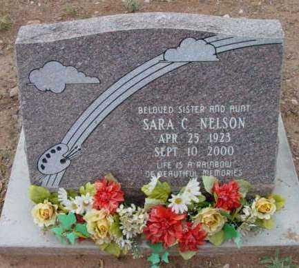 NELSON, SARA C. - Yavapai County, Arizona | SARA C. NELSON - Arizona Gravestone Photos