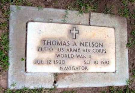 NELSON, THOMAS A. - Yavapai County, Arizona   THOMAS A. NELSON - Arizona Gravestone Photos