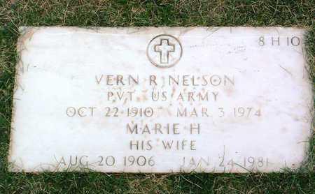 NELSON, VERN R. - Yavapai County, Arizona   VERN R. NELSON - Arizona Gravestone Photos