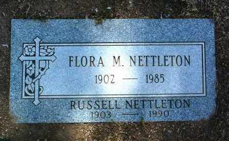 ZUCCO NETTLETON, FLORA - Yavapai County, Arizona | FLORA ZUCCO NETTLETON - Arizona Gravestone Photos