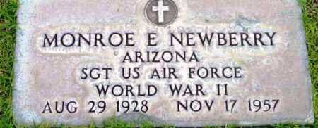 NEWBERRY, MONROE E. - Yavapai County, Arizona | MONROE E. NEWBERRY - Arizona Gravestone Photos
