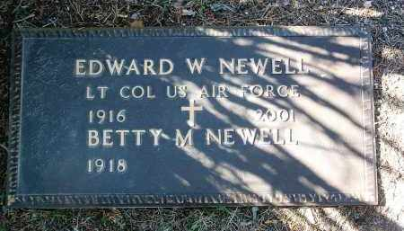 NEWELL, BETTY M. - Yavapai County, Arizona | BETTY M. NEWELL - Arizona Gravestone Photos