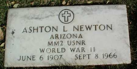 NEWTON, ASHTON LEROY - Yavapai County, Arizona | ASHTON LEROY NEWTON - Arizona Gravestone Photos