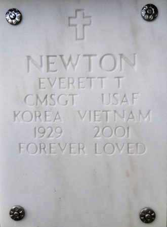 NEWTON, EVERETT THOMAS - Yavapai County, Arizona | EVERETT THOMAS NEWTON - Arizona Gravestone Photos