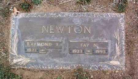 NEWTON, RAYMOND T. - Yavapai County, Arizona | RAYMOND T. NEWTON - Arizona Gravestone Photos