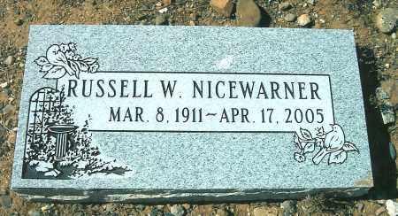 NICEWARNER, RUSSELL W - Yavapai County, Arizona | RUSSELL W NICEWARNER - Arizona Gravestone Photos