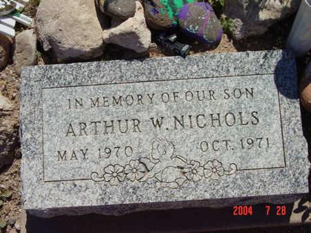 NICHOLS, ARTHUR W. - Yavapai County, Arizona | ARTHUR W. NICHOLS - Arizona Gravestone Photos
