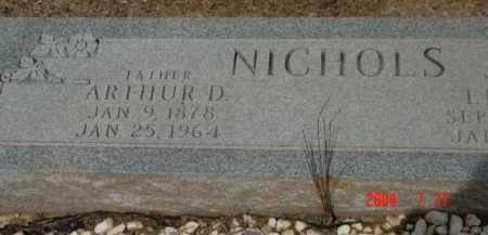 NICHOLS, ARTHUR DUDLEY - Yavapai County, Arizona   ARTHUR DUDLEY NICHOLS - Arizona Gravestone Photos
