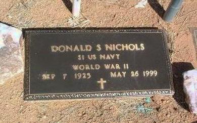 NICHOLS, DONALD S. - Yavapai County, Arizona | DONALD S. NICHOLS - Arizona Gravestone Photos