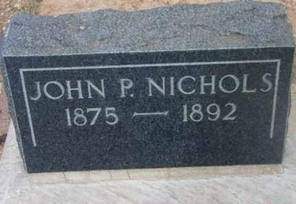 NICHOLS, JOHN P. - Yavapai County, Arizona   JOHN P. NICHOLS - Arizona Gravestone Photos