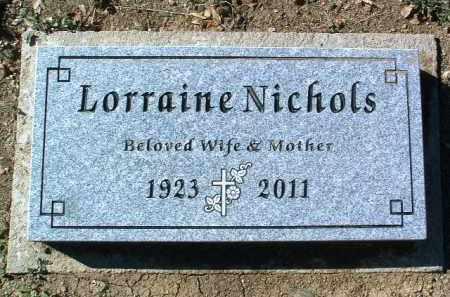NICHOLS, LORRAINE ELLA - Yavapai County, Arizona | LORRAINE ELLA NICHOLS - Arizona Gravestone Photos