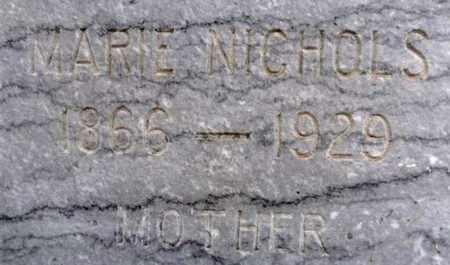 NICHOLS, MARIE - Yavapai County, Arizona   MARIE NICHOLS - Arizona Gravestone Photos