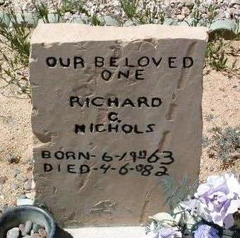 NICHOLS, RICHARD C. - Yavapai County, Arizona | RICHARD C. NICHOLS - Arizona Gravestone Photos