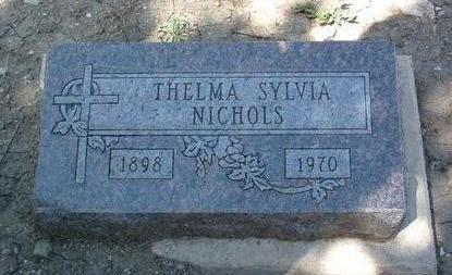 NICHOLS, THELMA SYLVIA - Yavapai County, Arizona | THELMA SYLVIA NICHOLS - Arizona Gravestone Photos