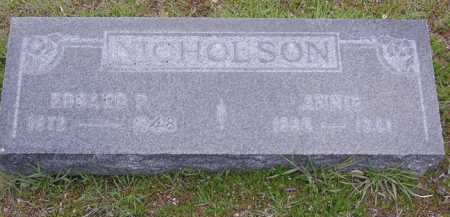 NICHOLSON, ANNIE - Yavapai County, Arizona | ANNIE NICHOLSON - Arizona Gravestone Photos