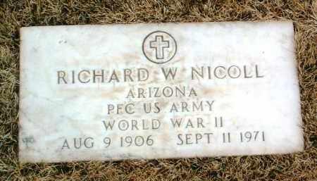 NICOLL, RICHARD W. - Yavapai County, Arizona | RICHARD W. NICOLL - Arizona Gravestone Photos