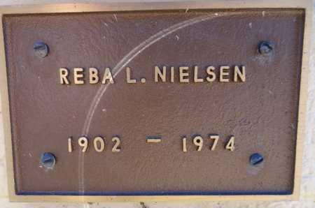 NIELSEN, REBA L - Yavapai County, Arizona | REBA L NIELSEN - Arizona Gravestone Photos