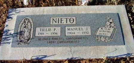 NIETO, MANUEL J. - Yavapai County, Arizona   MANUEL J. NIETO - Arizona Gravestone Photos