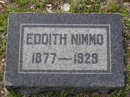 NIMMO, EDDITH - Yavapai County, Arizona | EDDITH NIMMO - Arizona Gravestone Photos