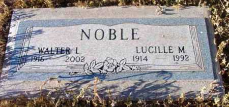 WYATT NOBLE, LUCILLE M. - Yavapai County, Arizona | LUCILLE M. WYATT NOBLE - Arizona Gravestone Photos